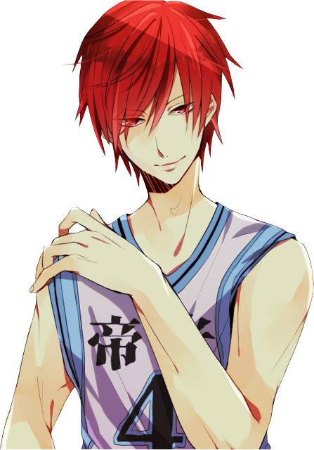 Kuroko no Basket Render - Akashi Seijuurou by WhateverheadDrop on ...