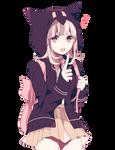 Super Dangan Ronpa 2 Render - Chiaki Nanami