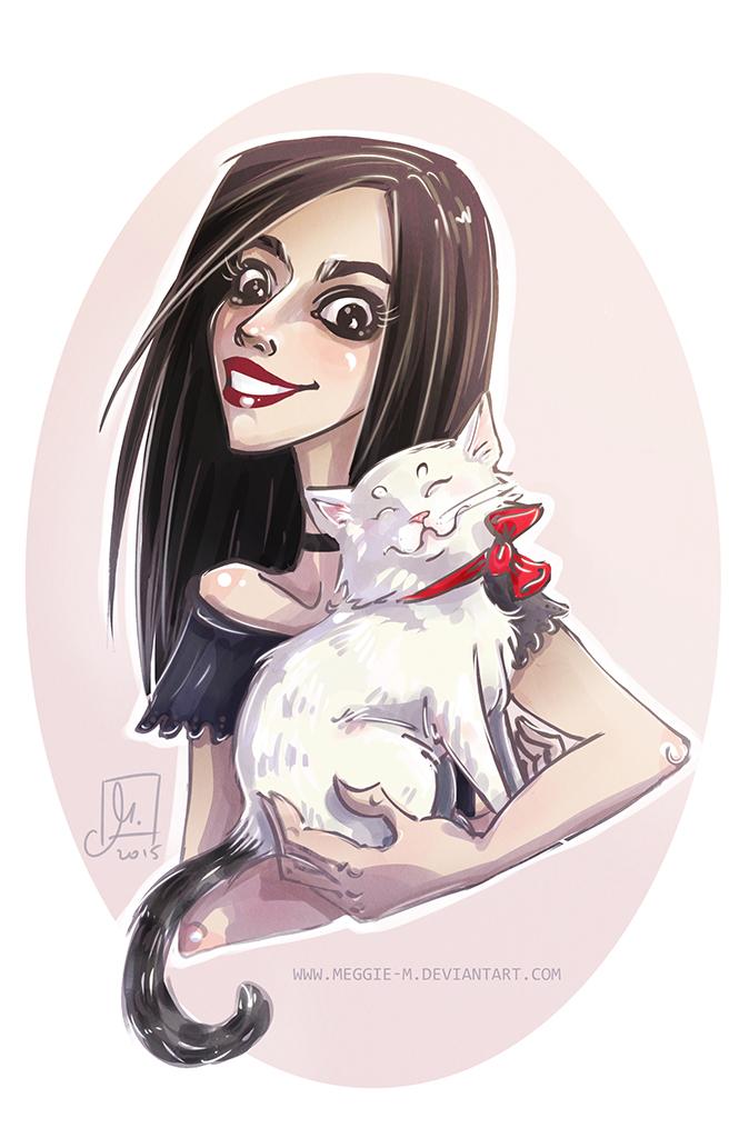 Floria and Yuki by Meggie-M