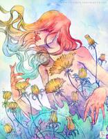 Dandelions by Meggie-M