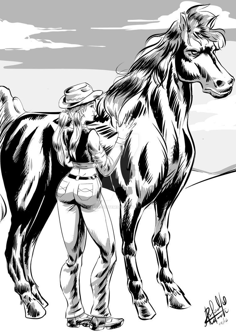 Cavalodefogo by rafael-artemis