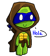 Leo Ghost of the Jungle Pixel by DECEPTIB0T