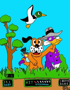 Darkwing Duck Meets Duck Hunt