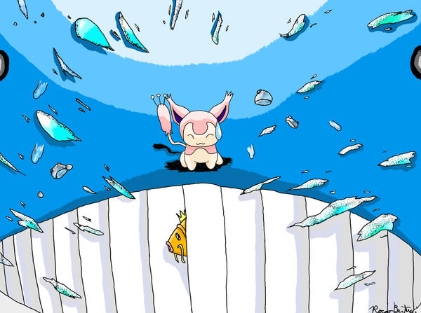 HOT SKITTY ON WAILORD ACTION by RoccoBertucci on DeviantArt
