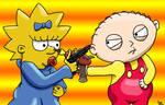 Maggie vs. Stewie