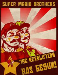 Super Communist Bros. by RoccoBertucci