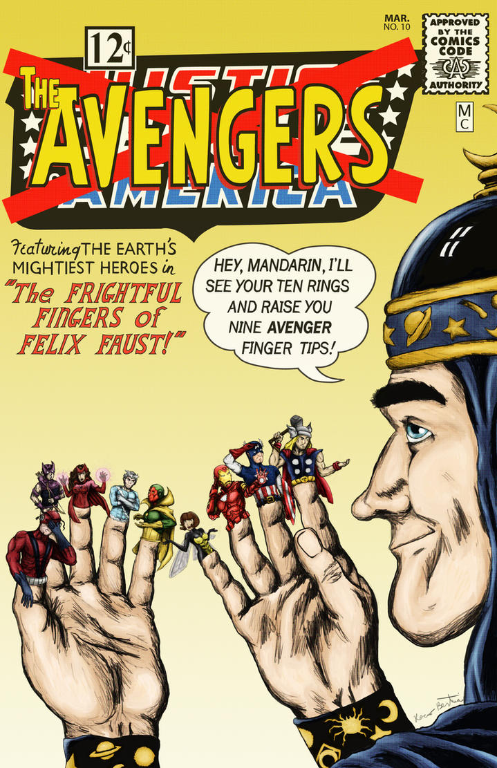 The Frightful Fingers of Felix Faust by RoccoBertucci