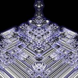 Tetrabrot - Zoom in, No. 01 by Metafractals