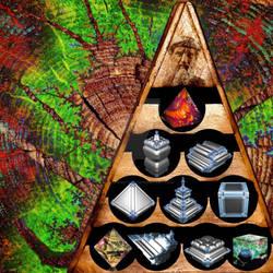Mystic Tetrad - The Tricomplex Tetraktys