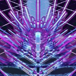 3D Mandelbrot set - Zoom in, No. 01 by Metafractals