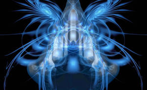 The butterfly of chaos by Metafractals