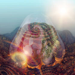 Before  the Hybridization by Metafractals