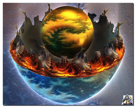 Chintamani - Dragon Ball by Metafractals