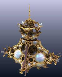 Quaternionic Mandelbrot Set - Kleinian Ed.