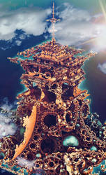 Tetrabrot Tower by Metafractals