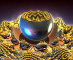 Golden Geode