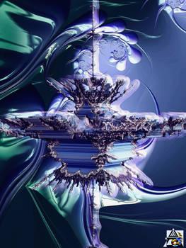 3D Mandelbrot set - Zoom in, No. 03 - Variation