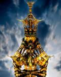 Mandelbrot Hybrid Tower