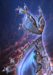 The Moon Rabbit by Metafractals