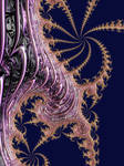 Multicorn spirals by Metafractals