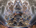 Mandelbulb Julia Set, No. 06 by Metafractals