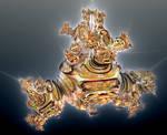 Goldenbulb Julia Set by Metafractals
