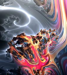Native Goldenbulb Dragons by Metafractals
