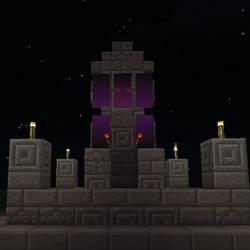 Dark Banner Minecraft Build!