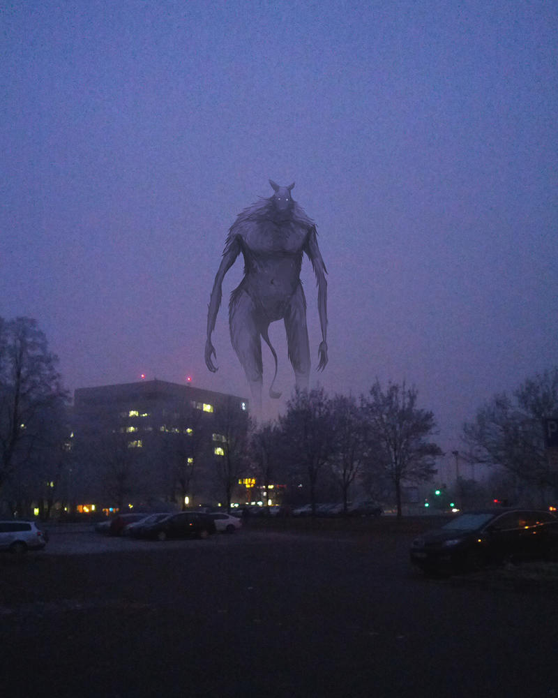 The Fog Dwarf (Creatures in the streets 02) by OFart