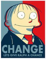 Ralph Change Poster by dreamwatcher7