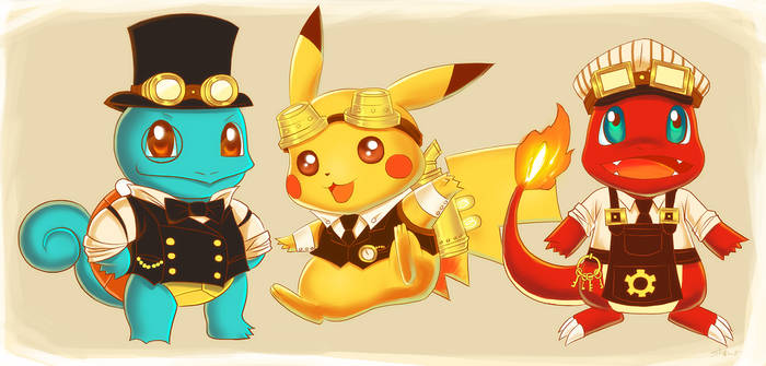 Steampunk Pokemon