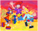 Pepper Ann Painting