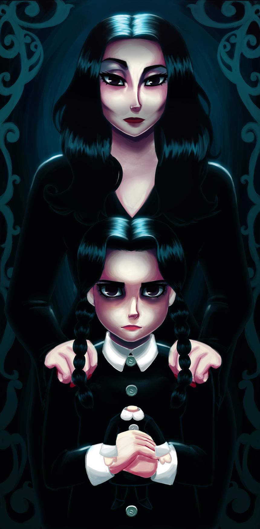 Morticia Wednesday Addams