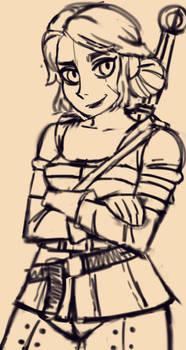 Cirilla Sketches