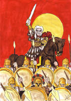 Alexander The Great by LukaArtPula