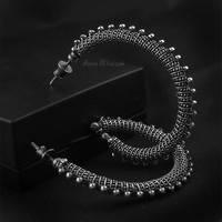 The Curse - hoops, earrings by AnnaMroczek