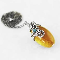 Sunny pendant (1) by AnnaMroczek