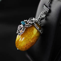 Sunny pendant (2) by AnnaMroczek