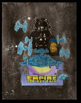 Empire strikes back poster (water color)