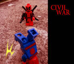 Civil war -  Deadpool vs Spiderman 02
