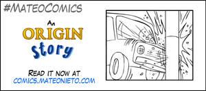 An origin story - car accident promo