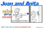 Juan and Anita: my lil cousins