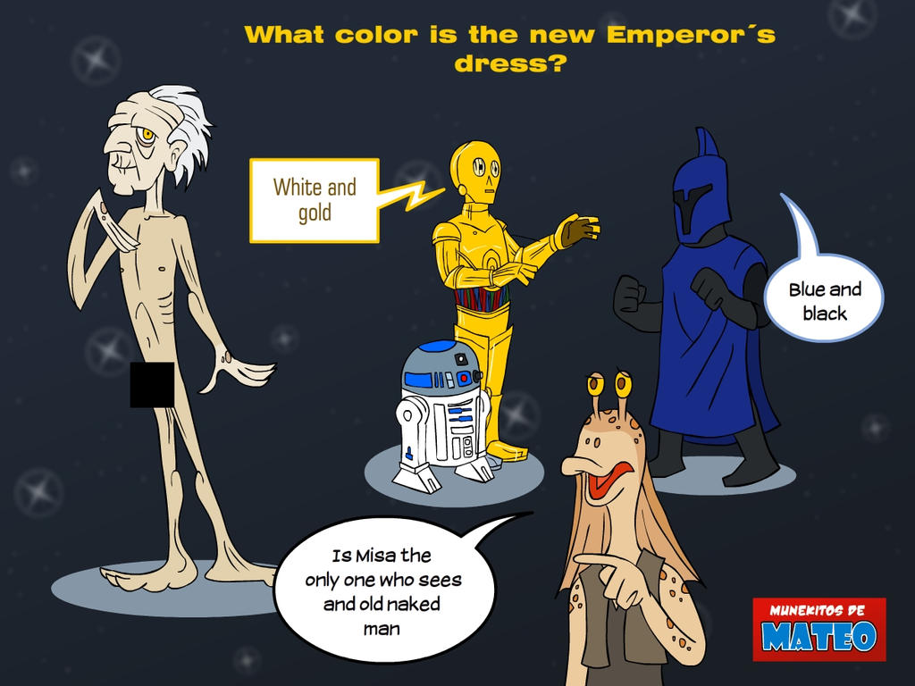 The emperors new dress