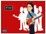 Pearl Jam postcards - Stone