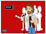 Pearl Jam postcards - Eddie
