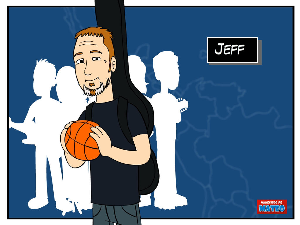 Pearl Jam postcards - Jeff