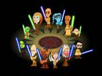 Jedi Council Cartoon
