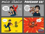 Mico cinico Pokemon Go