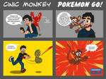 Cinic monkey Pokemon Go