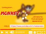 Animated monkey